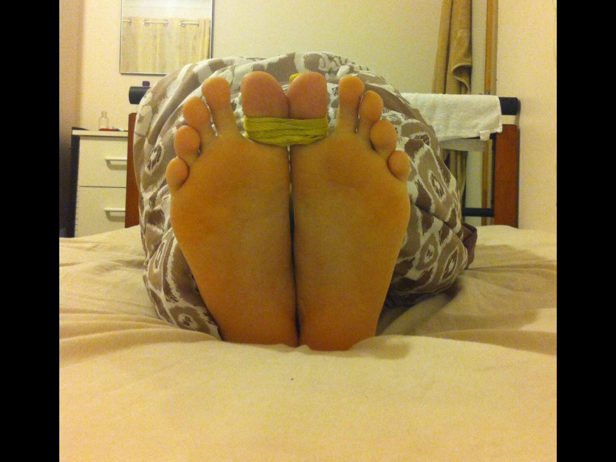 Tied Toes