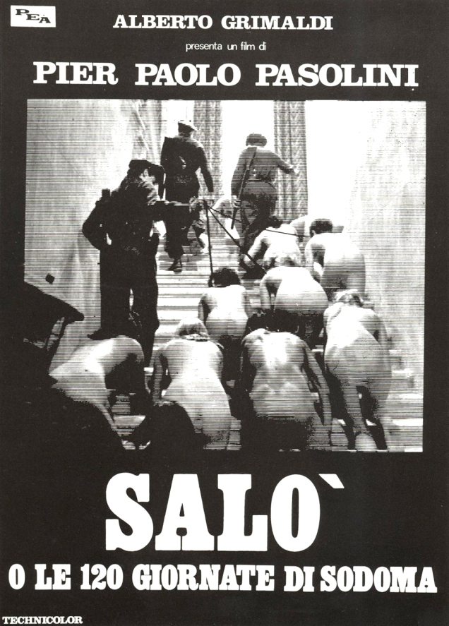 Movie Review:  Salo, or 120 Days of Sodom