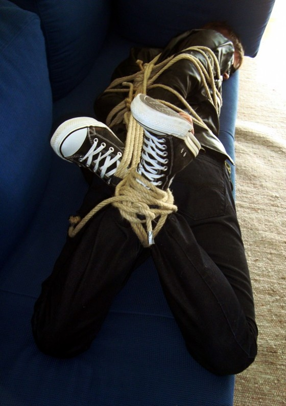 Clothed hogties