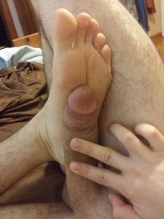 TFG Exclusive:  KenFoot90, Bonus–Feet & Cock