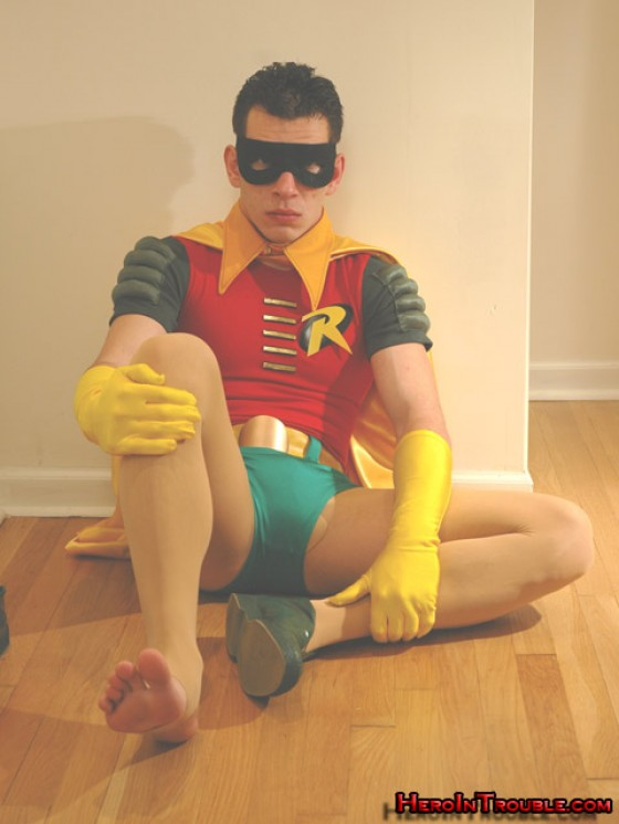 Burt Ward Barefoot (sort of)