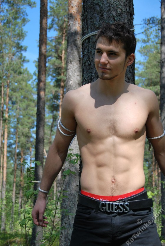 Bondage in the great outdoors
