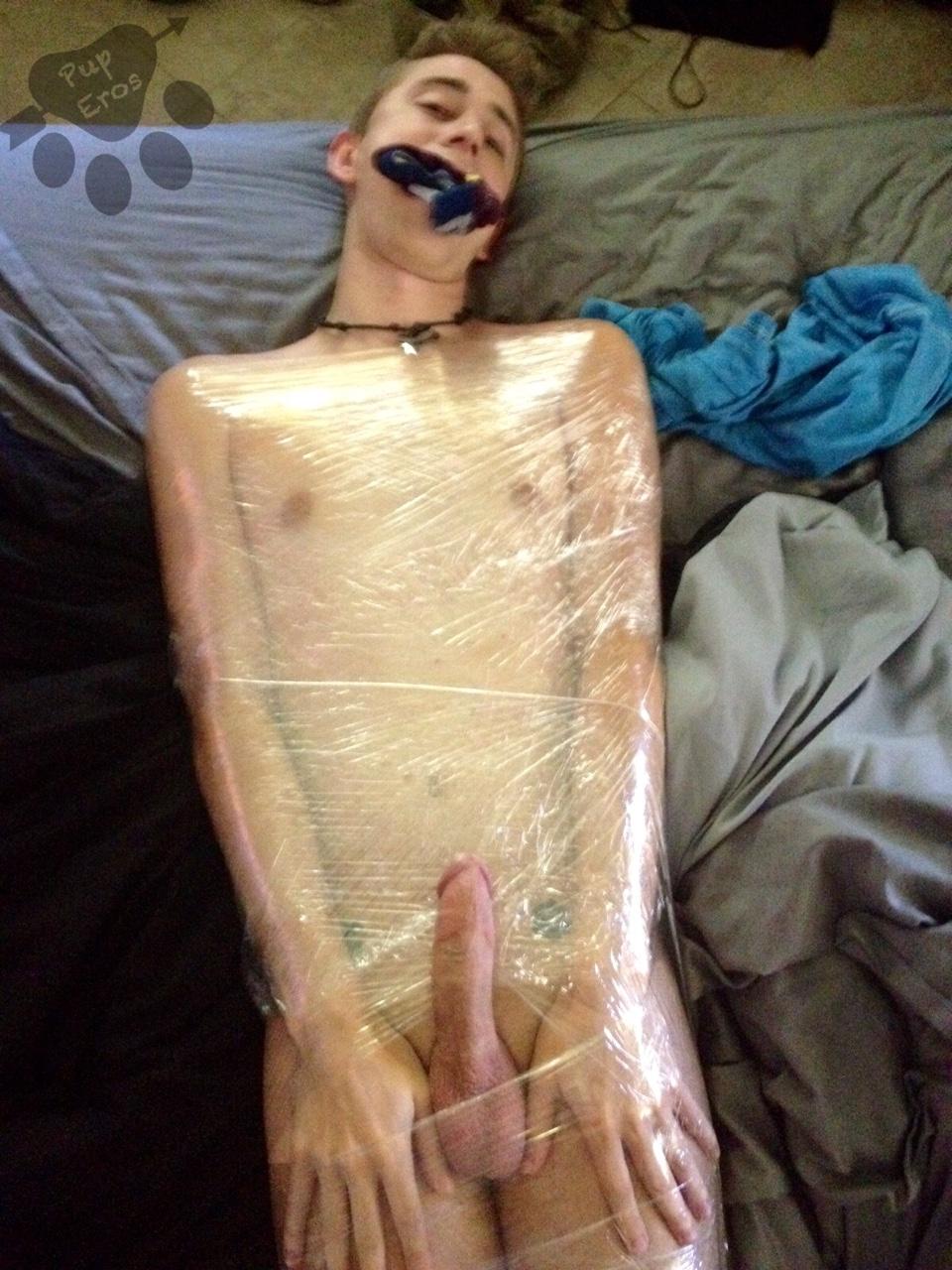 Wrapped bondage porn pics